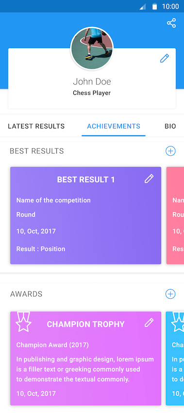 My Achievements copy